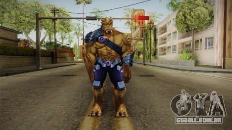 Marvel Future Fight - Black Dwarf para GTA San Andreas