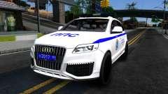 Audi Q7 Russian Police