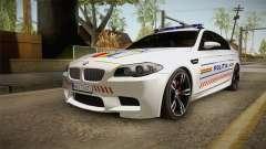 BMW M5 F10 Romanian Police