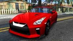 Nissan GT-R 2017 para GTA San Andreas