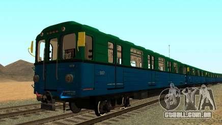 Metrostav tipo de Еж3 para GTA San Andreas