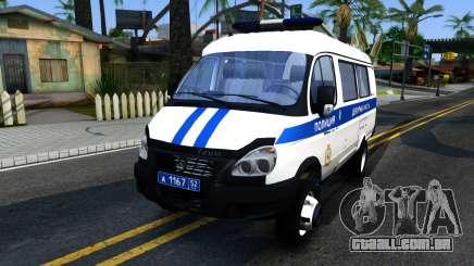 Gazela 2705 Polícia para GTA San Andreas