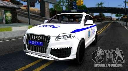 Audi Q7 Russian Police para GTA San Andreas
