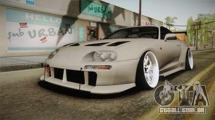 Toyota Supra Widebody para GTA San Andreas