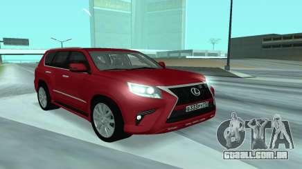 Lexus CX 460 para GTA San Andreas