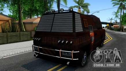 Bus of Future para GTA San Andreas