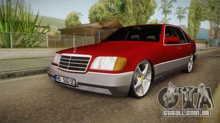 Mercedes-Benz W140 Projekt para GTA San Andreas