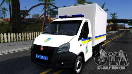 Gazela PRÓXIMA Van da Ucrânia para GTA San Andreas