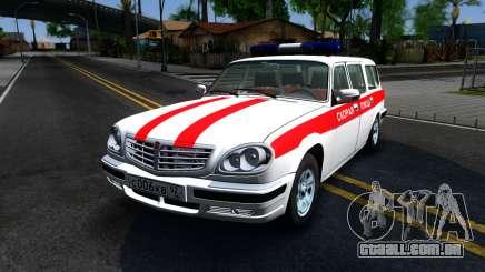 GAZ 31105 Volga combi Ambulância para GTA San Andreas