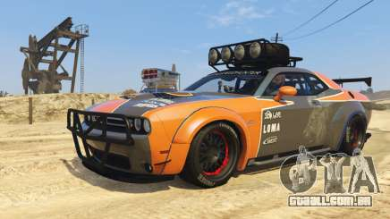 Dodge Challenger 2015 (Super Tuning) para GTA 5