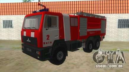 MAZ 5440 Fogo para GTA San Andreas