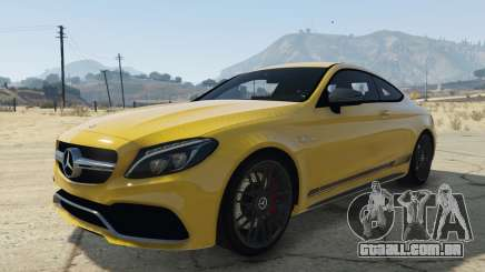 Mercedes C63S AMG Coupe para GTA 5
