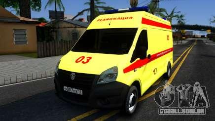 Gazela Próximo De Reanimação para GTA San Andreas