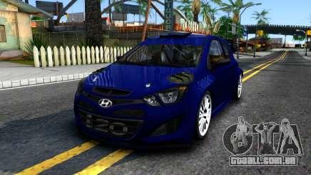 Hyundai i20 WRC 2013 para GTA San Andreas