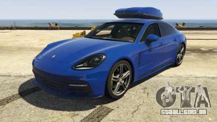 Porsche Panamera 2017 para GTA 5
