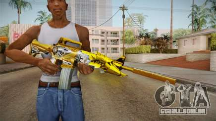 Cross Fire - M4A1-S Iron Beast Noble Gold para GTA San Andreas