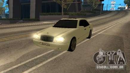 Mercedes-Benz E420 Armenian para GTA San Andreas
