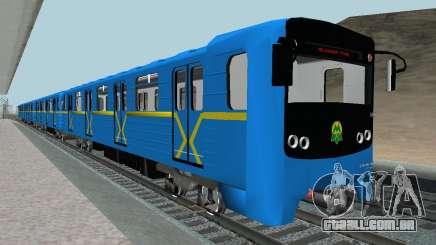 Metrostav tipo de E-KM para GTA San Andreas