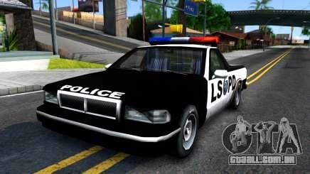New Police Car para GTA San Andreas