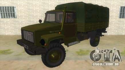 GÁS 33081 Садко Military para GTA San Andreas