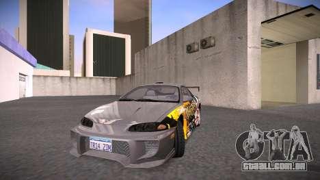 Mitsubishi Eclipse GSX para vista lateral GTA San Andreas