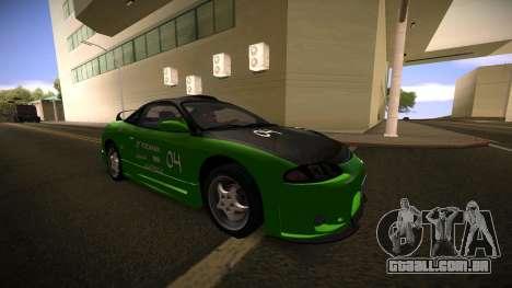 Mitsubishi Eclipse GSX para GTA San Andreas vista direita