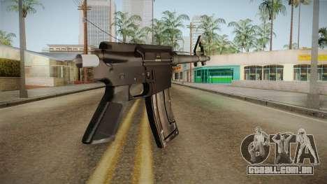Short AR-15 para GTA San Andreas segunda tela