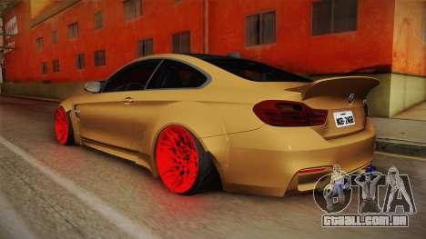 BMW M4 RS para GTA San Andreas esquerda vista