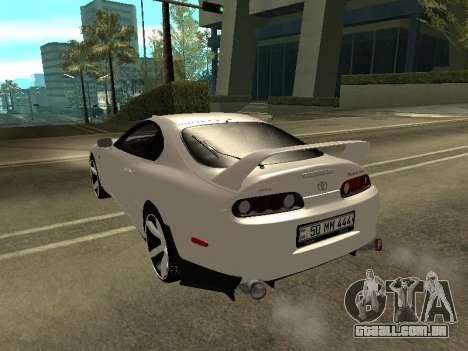 Toyota Supra Armenian para GTA San Andreas