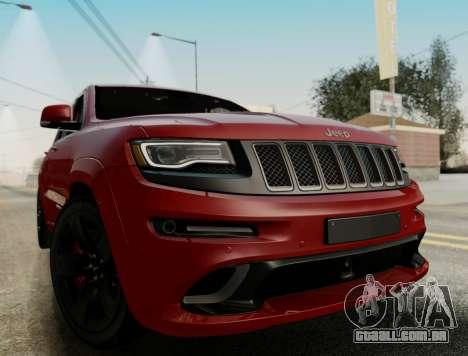 Jeep Grand Cherokee SRT 8 para GTA San Andreas