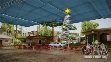 Christmas Island - Happy New Year 2017 para GTA San Andreas