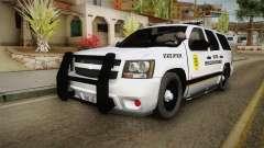 Chevrolet Tahoe 2013 Iowa State MVE para GTA San Andreas