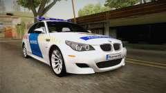 BMW M5 E60 Hungary Police