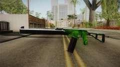 Green AK-47 para GTA San Andreas