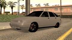 VAZ 2112 Branco Baixos para GTA San Andreas
