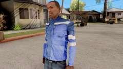 O casaco azul