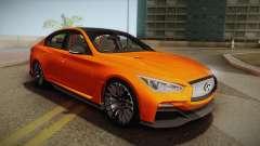 Infiniti Q50 Eau Rouge 2014 para GTA San Andreas