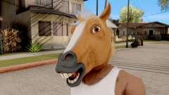 Máscara De Cavalo para GTA San Andreas