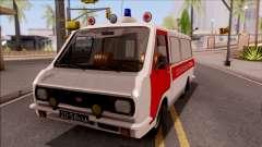 RAF 22031 Ambulância de Pripyat para GTA San Andreas