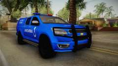 Chevrolet S10 Turkish Gendarmerie CSI Unit para GTA San Andreas