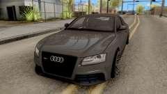 Audi RS5 prata para GTA San Andreas