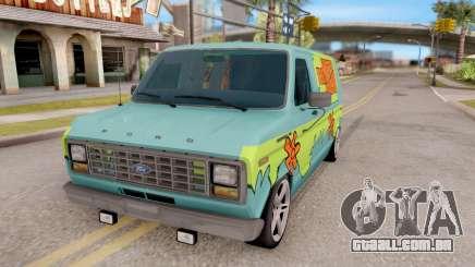 Ford Econoline 150 Scooby-Doo Mystery Machine para GTA San Andreas