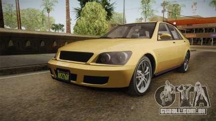 GTA 5 Karin Sultan SW IVF para GTA San Andreas