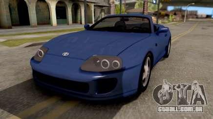 Toyota Supra Cabrio para GTA San Andreas