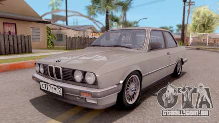 BMW E30 320i para GTA San Andreas