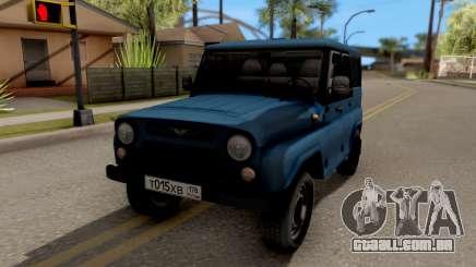 UAZ Caçador V8 Antigênicas AcademeG para GTA San Andreas