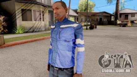 O casaco azul para GTA San Andreas