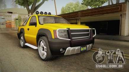 GTA 5 Declasse Granger Pick-Up para GTA San Andreas