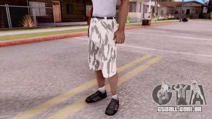 Calças de camo para GTA San Andreas