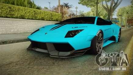 Lamborghini Murcielago LP670-4 SV Liberty Walk para GTA San Andreas
